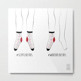 Socks Metal Print