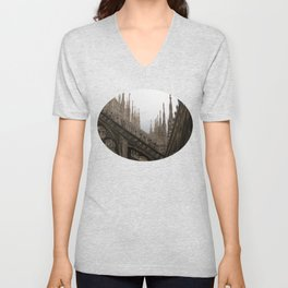 Repeating Arches Unisex V-Neck