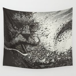 Scourge Of Man Wall Tapestry
