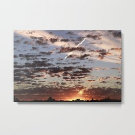 Australian Sunset Metal Print
