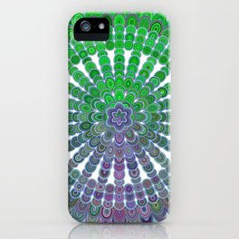 Spring Mandala Wheel iPhone Case
