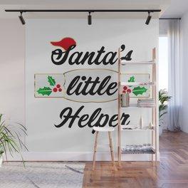Santa's Little Helper Wall Mural