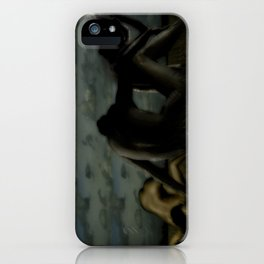 Three women in a field iPhone Case