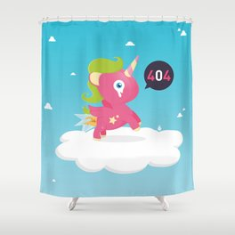 Oups...404! Shower Curtain