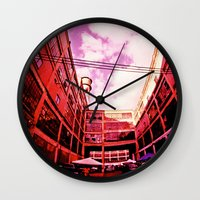 community Wall Clocks featuring Community by Litew8