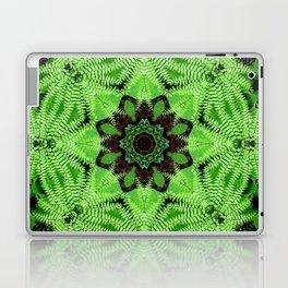 Fern and friends mandala - Maidenhair, Adiantum 567 kal 25 Laptop & iPad Skin