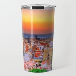 Barcelona Sunset Travel Mug
