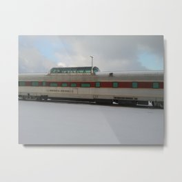 Sierra Hotel Train Car | Minneapolis, MN Metal Print