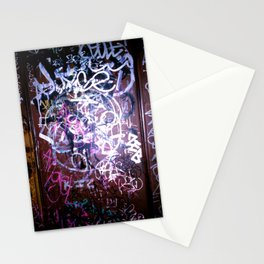 Bathroom Graffiti II Stationery Cards