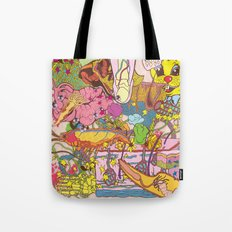 Easter Grissle Tote Bag