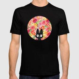 Jiji in Bloom T-shirt