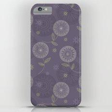 Folky Lace Flowers iPhone 6 Plus Slim Case