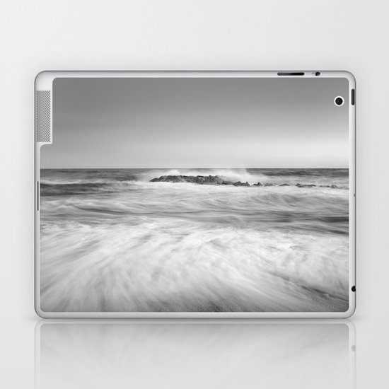 The force of the sea. M Laptop & iPad Skin