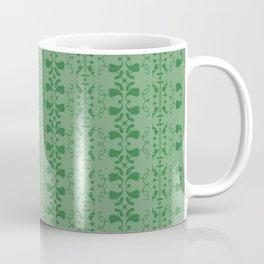 green retro pattern Coffee Mug