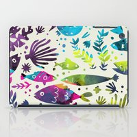 under the sea iPad Cases featuring Under The Sea by 83 Oranges™