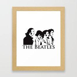 Paul, John, George and Ringo Framed Art Print