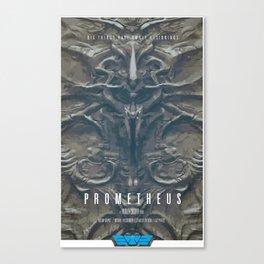 Prometheus - A film poster Canvas Print