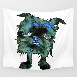 Lugga The Friendly Hairball Monster For Boos Wall Tapestry