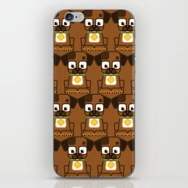 Super cute animals - Cute Brown Puppy Dog iPhone Skin