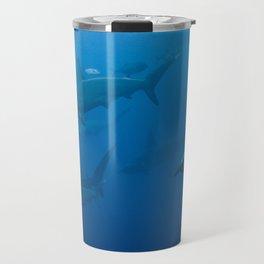 School of Hammerhead Sharks Travel Mug