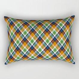 Plaid 19 Rectangular Pillow