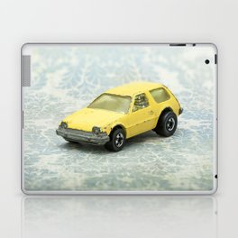Yellow Hot Wheels Packin' Pacer 1977 Laptop & iPad Skin