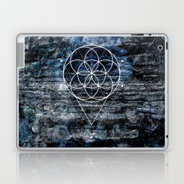 Flower geometry Laptop & iPad Skin