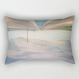 MM 205 . Sand Dunes x Country Road Rectangular Pillow