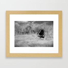Wild Chair Framed Art Print