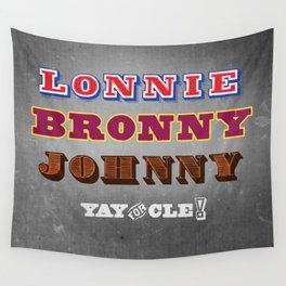Lonnie, Bronny, Johnny Wall Tapestry