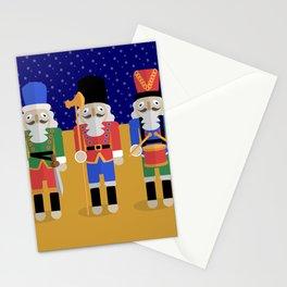 Christmas Nutcrackers Stationery Cards