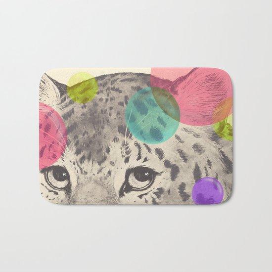 leopard changes his spots Bath Mat