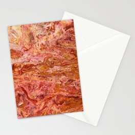 SoapsAndRoses.ART: Fluid Lava Stationery Cards