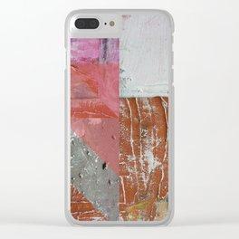 Painting Art Tierra III Clear iPhone Case