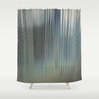 metal Shower Curtains featuring Metal by RDKL, Inc.