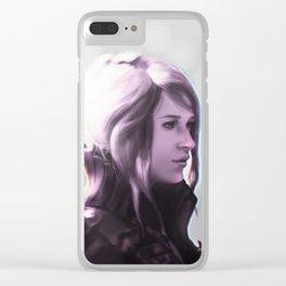 Crowe Altius - Unsung heroine Clear iPhone Case