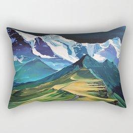 The Hike Rectangular Pillow