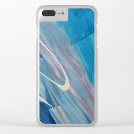 Just for Kicks Clear iPhone Case