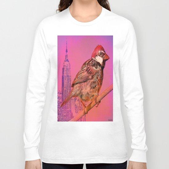 The New York sparrow Long Sleeve T-shirt