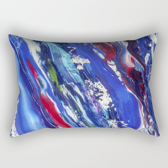 Abstract painting 11 Rectangular Pillow