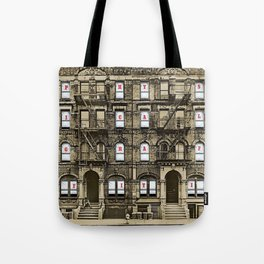 Physical Graffiti Led (Remastered) by Zeppelin Tote Bag