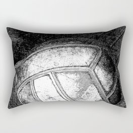 Volleyball vs 1 black and white Rectangular Pillow