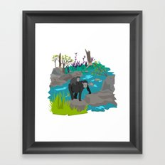 Gorillas Framed Art Print