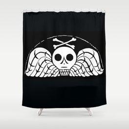 Death's Head Shower Curtain