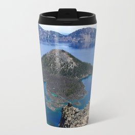 Wizard Island - Crater Lake National Park Travel Mug