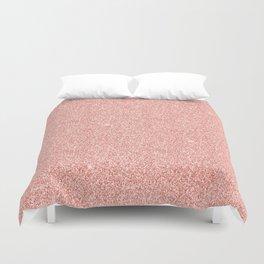 Rose Gold Glitter Duvet Cover