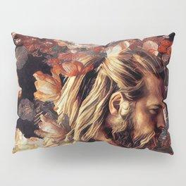 Floral viking Pillow Sham