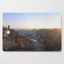 Tramonto a Genova Cutting Board