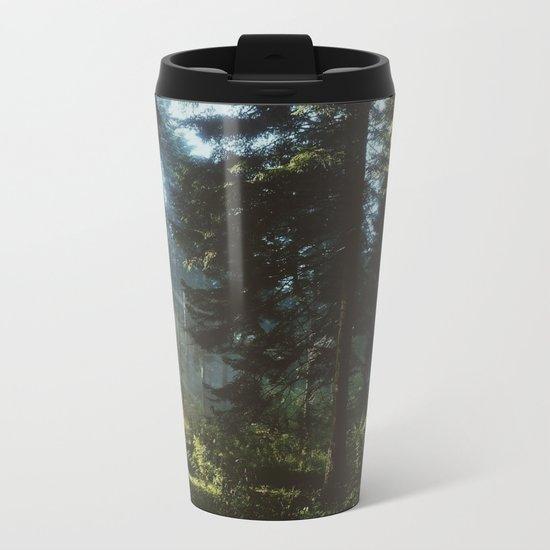 Woods Metal Travel Mug