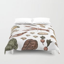 Food Duvet Cover